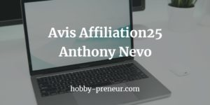 ✓Affiliation25 Anthony Nevo, c'est 40000€ en 2 ans